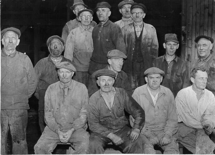 Arbetare hyttan Högfors från Greta Edberg