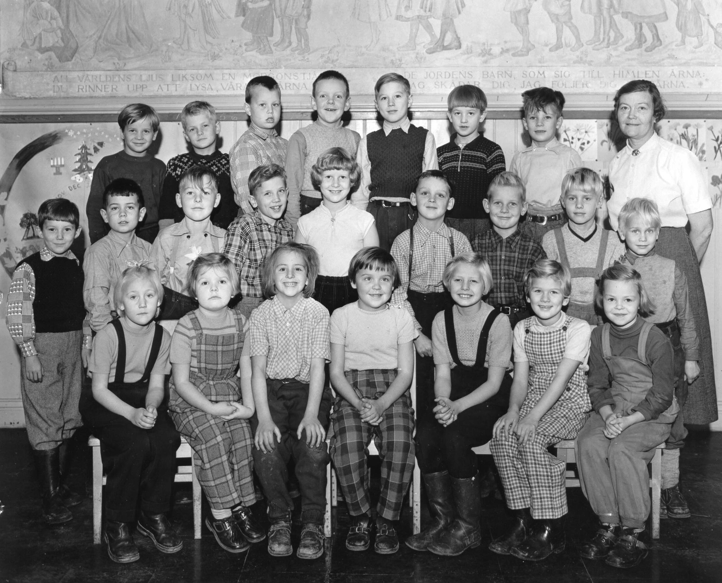 Högfors skola 50-tal