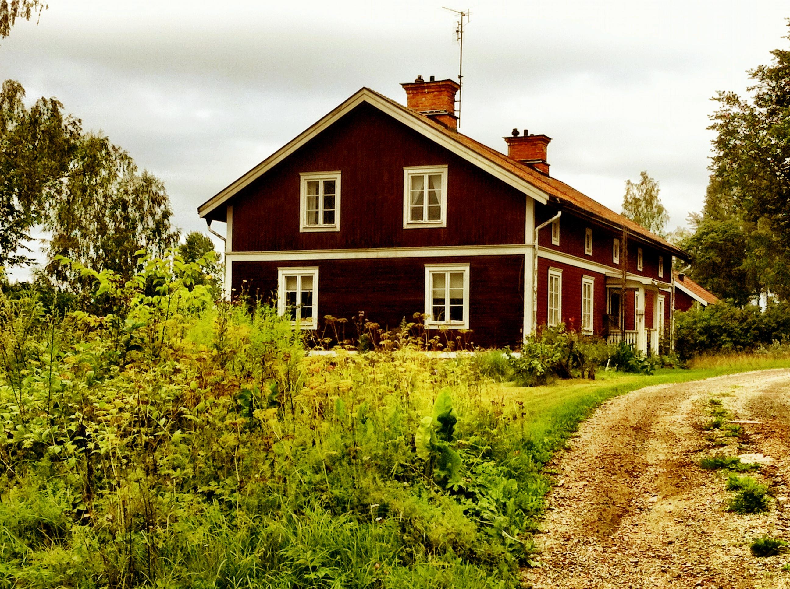 Hus i Högfors